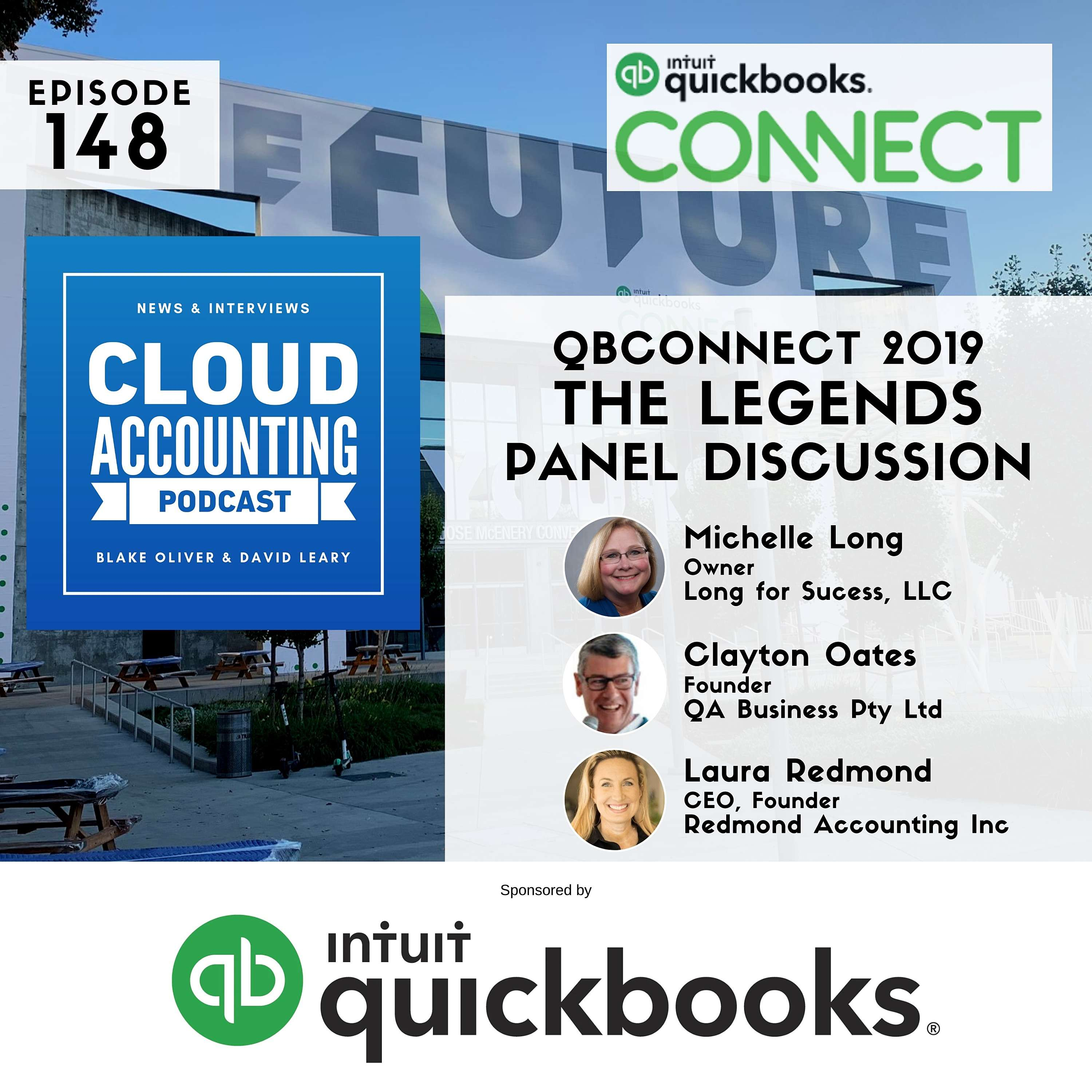 The Legends 🎙 Live at QuickBooks Connect