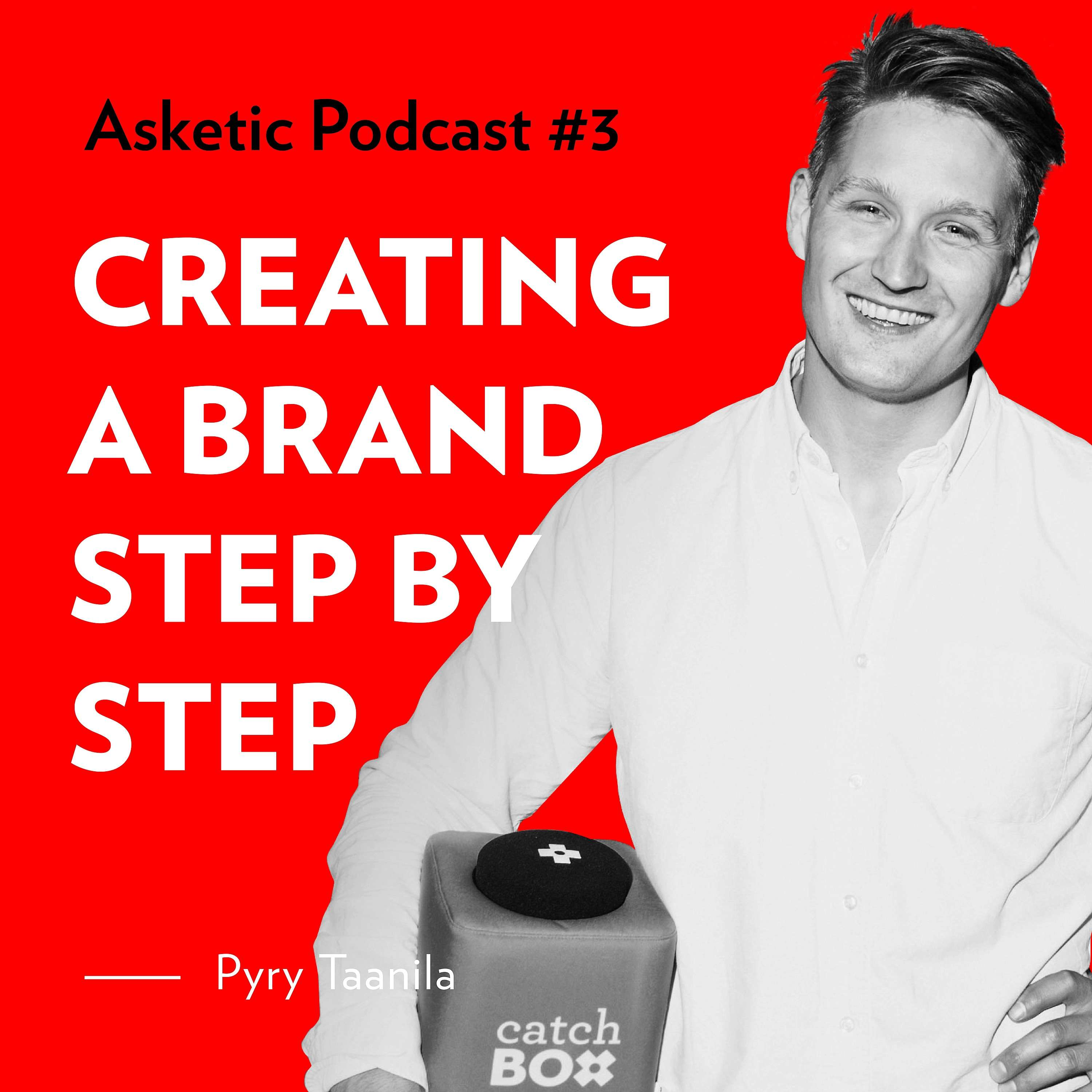 Asketic Podcast #3 Pyry Taanila — Creating a Brand Step by Step