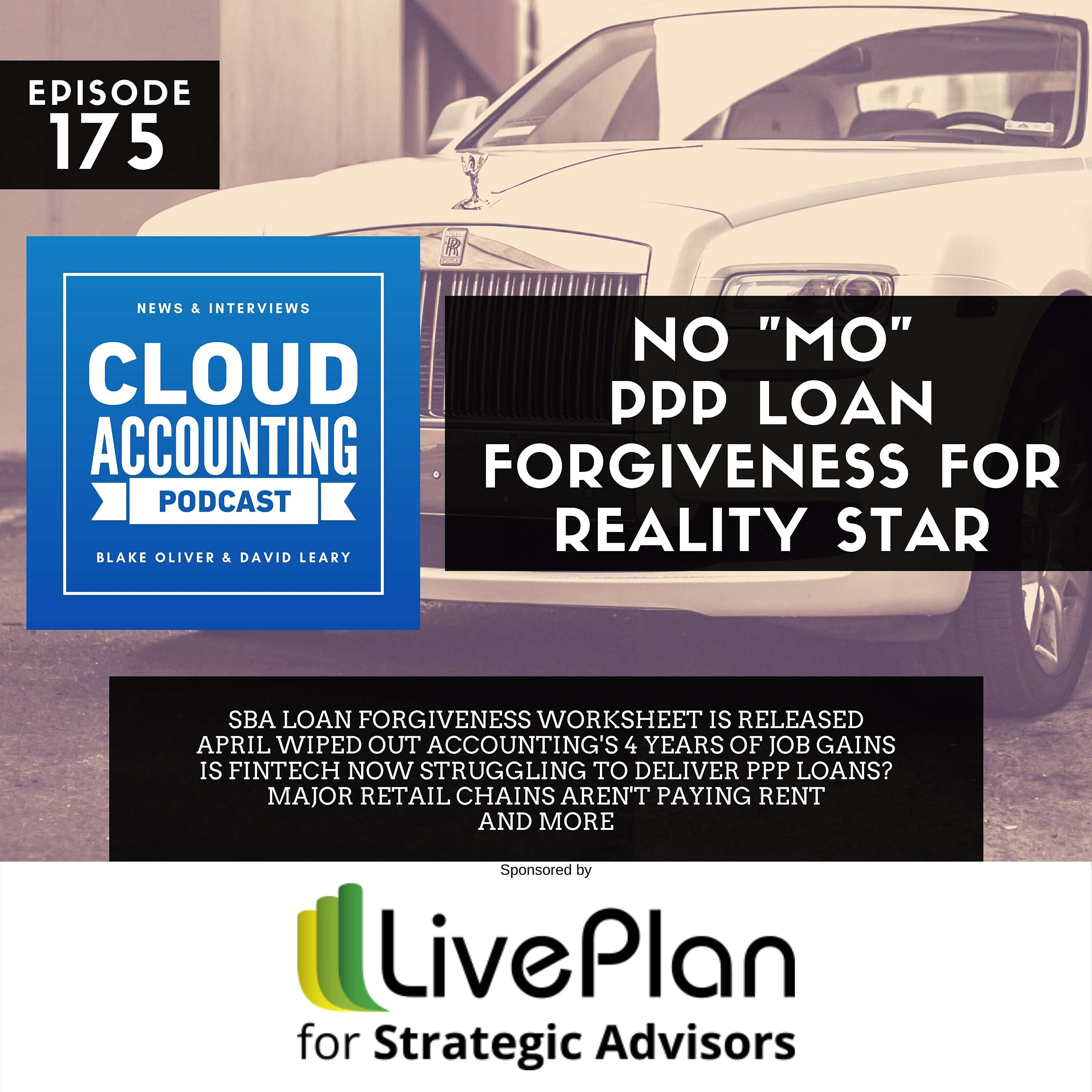 """No """"Mo"""" PPP Loan Forgiveness for Reality Star"""
