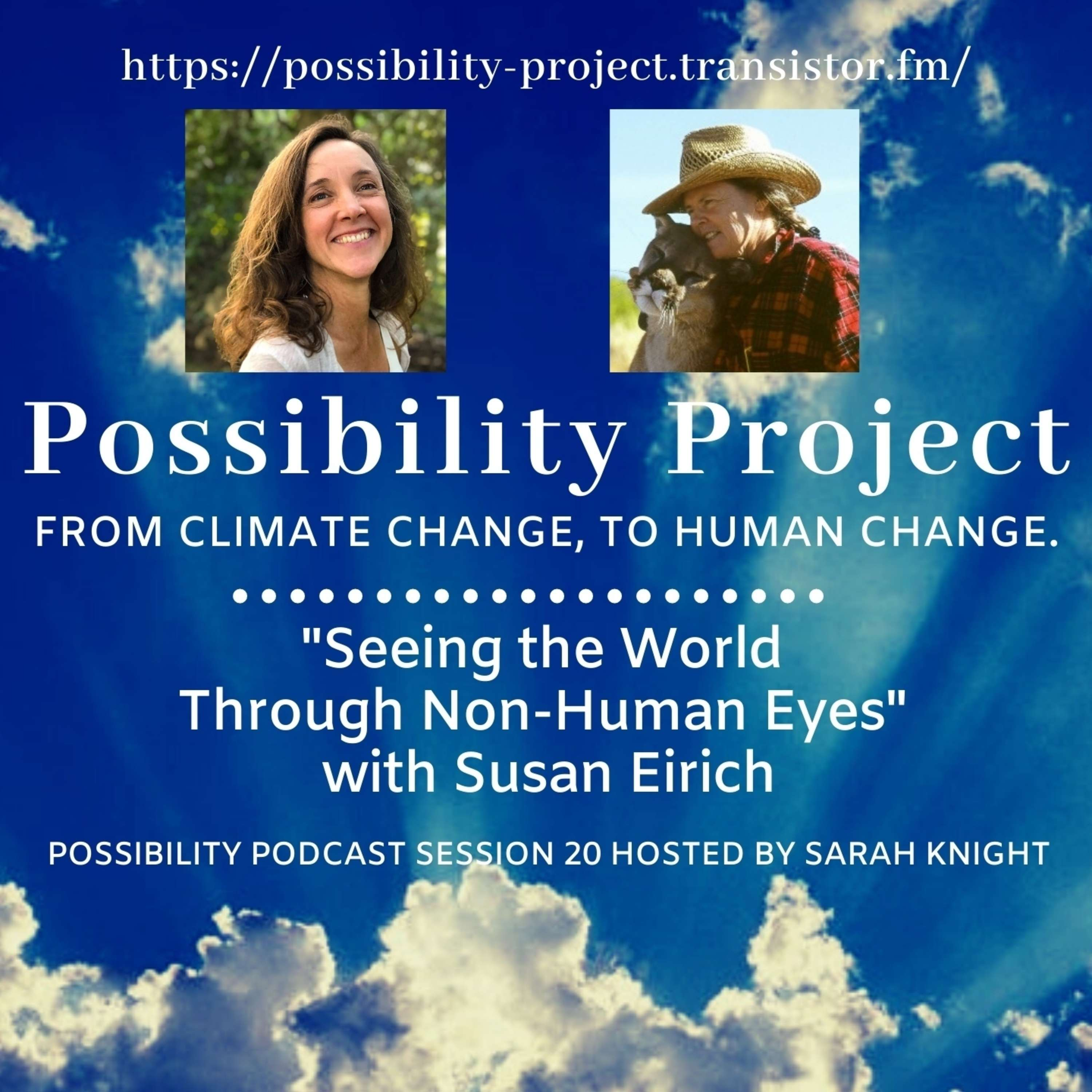 Seeing the World Through Non-Human Eyes with Susan Eirich, Possibility Podcast Session 20