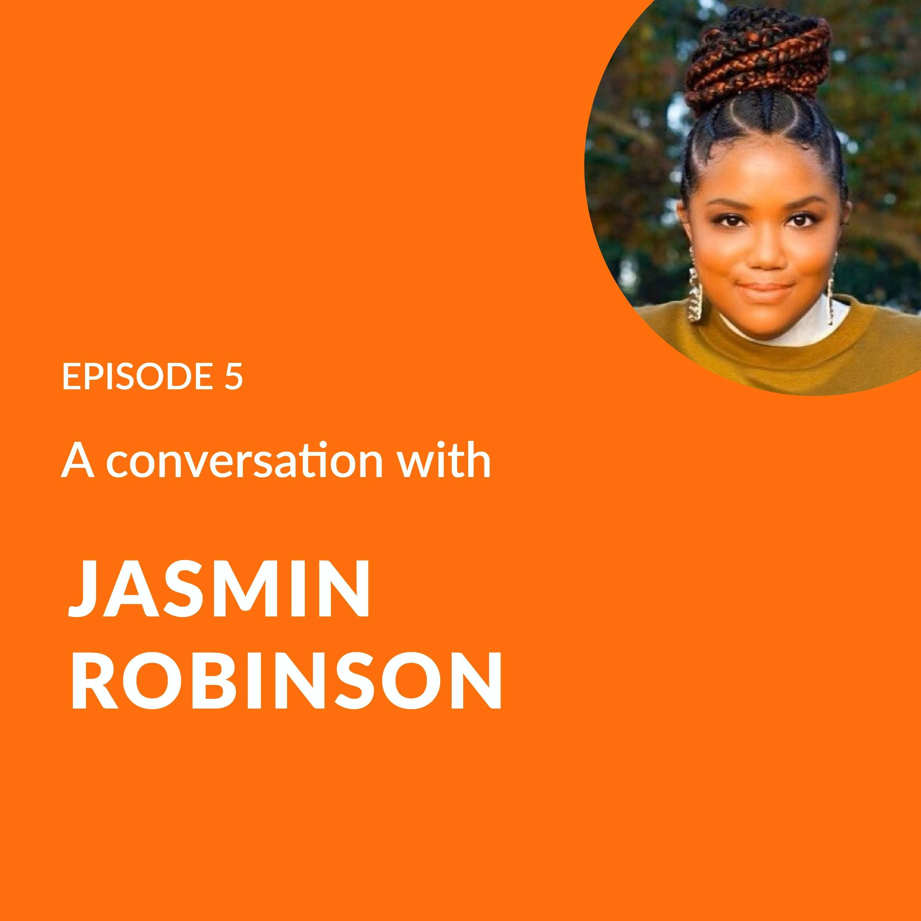 Jasmin Robinson - Jas Talks Law Founder and Lawyer