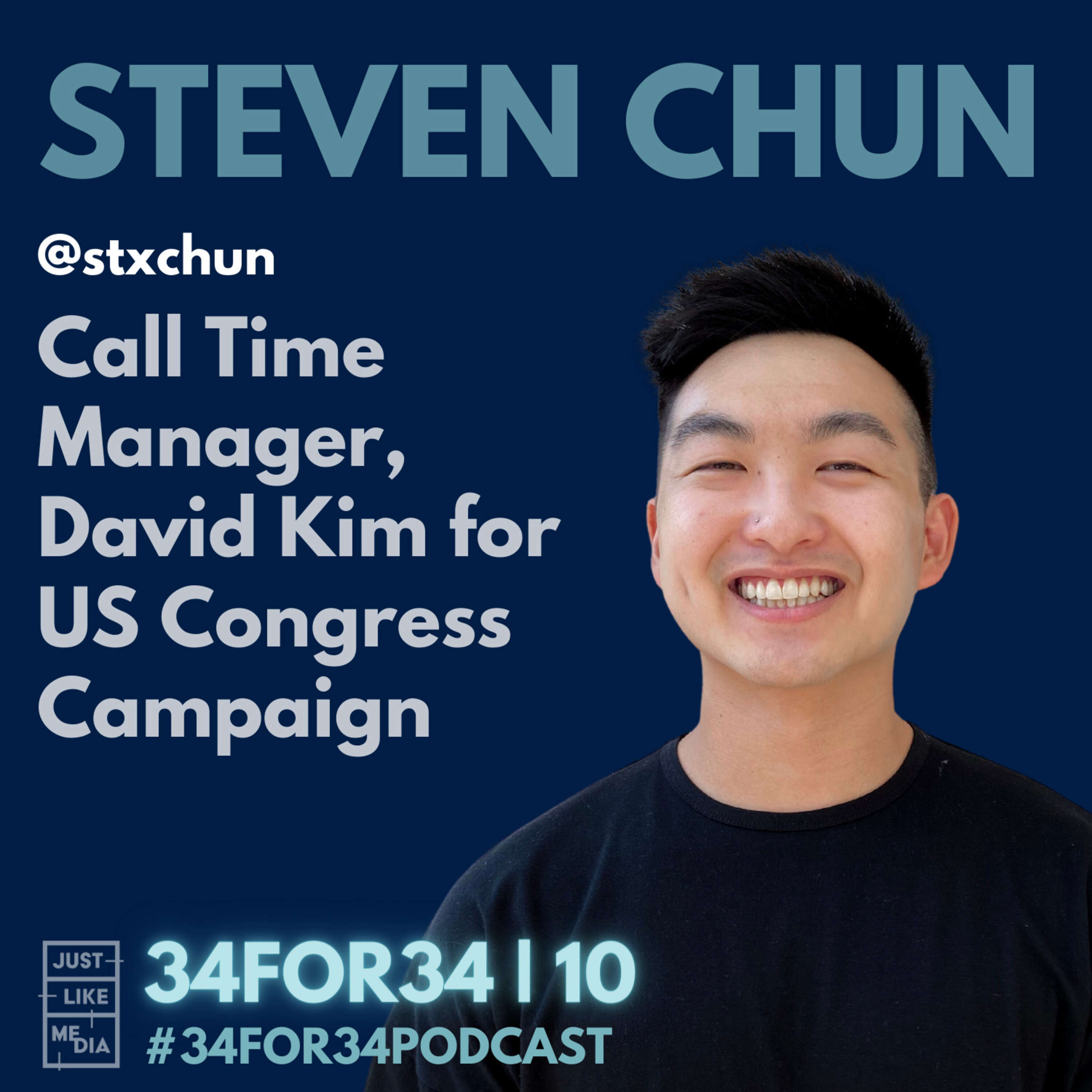 10 // Steven Chun // Call Time Manager, David Kim for US Congress Campaign