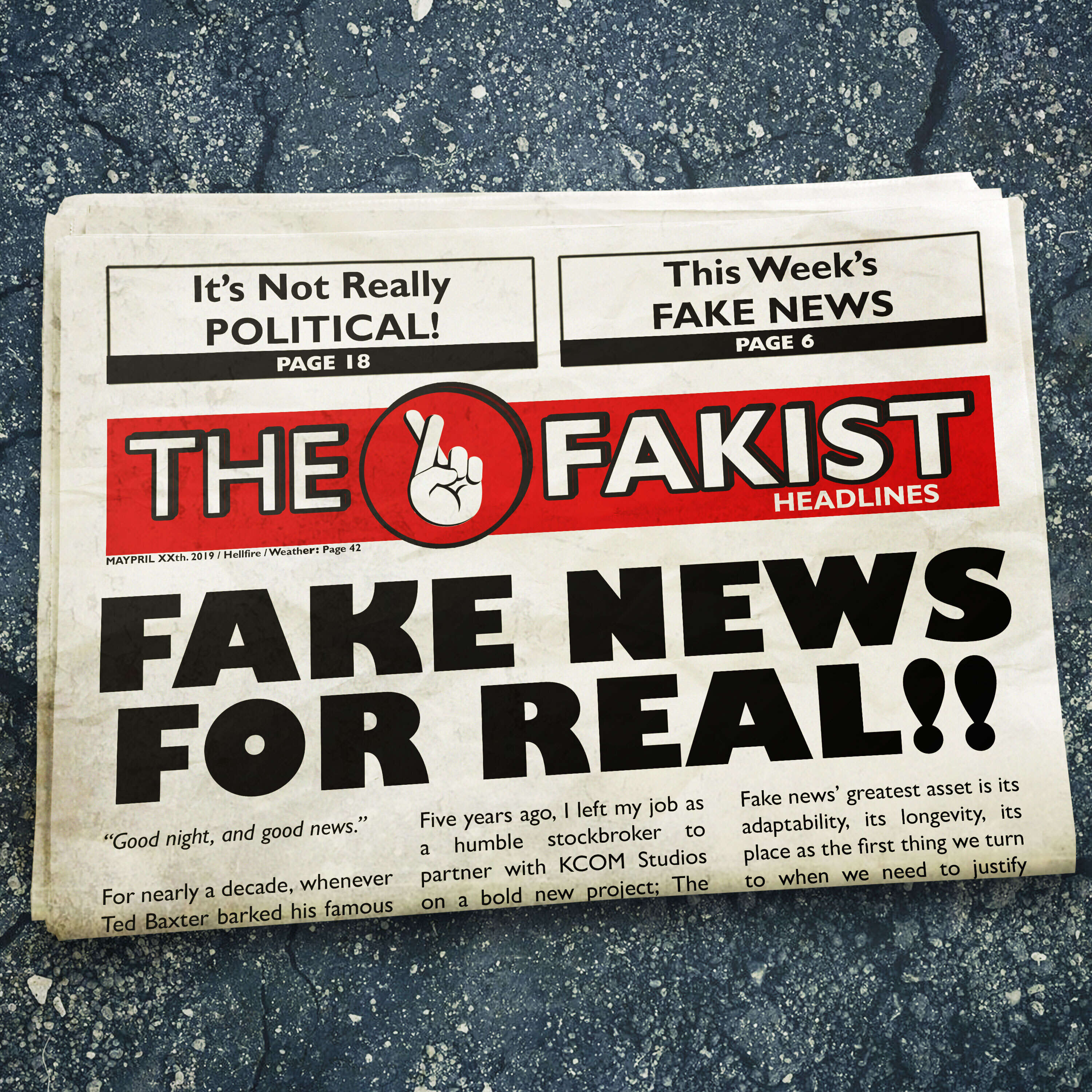 """""""The Fakist"""" Podcast"""