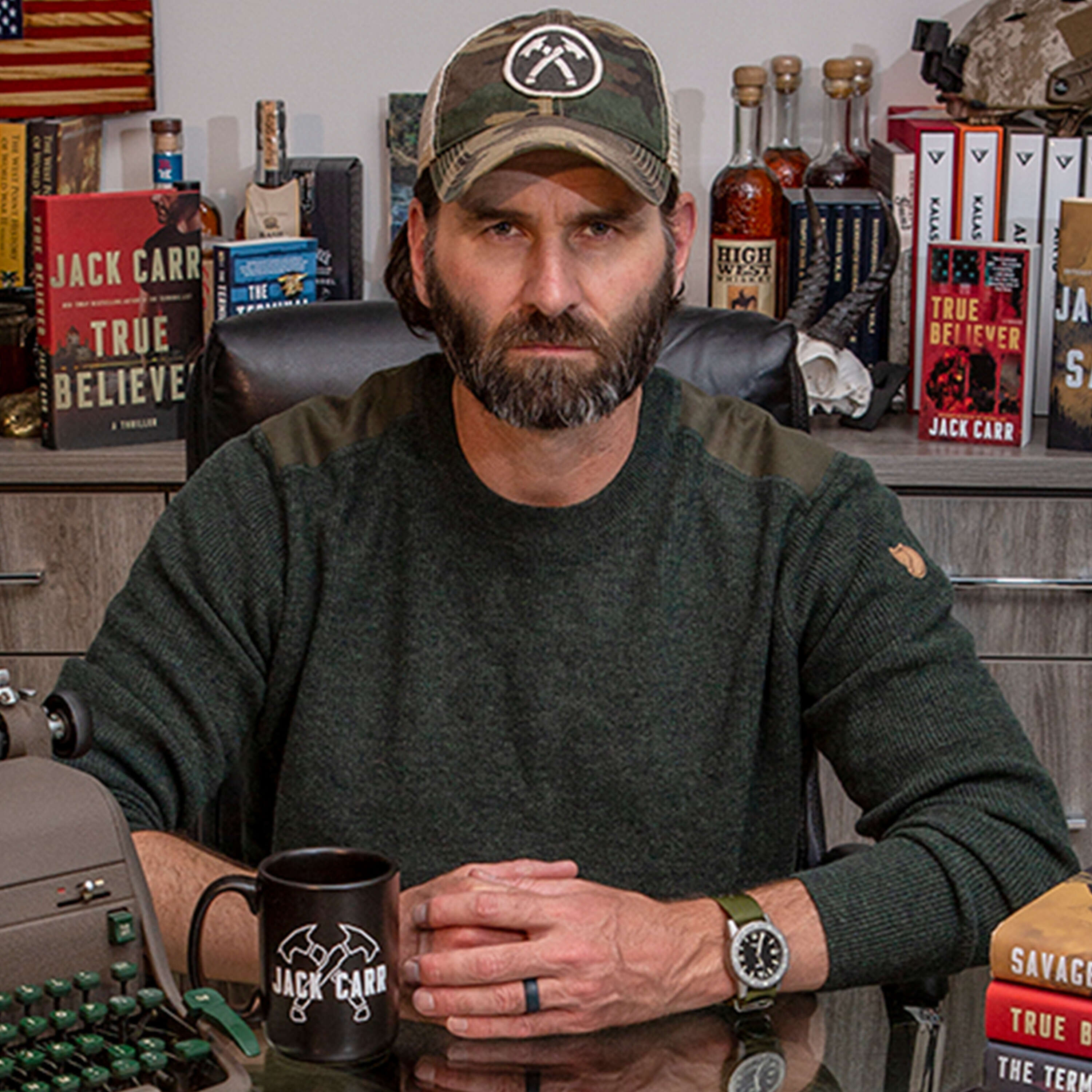 #225: Jack Carr, Navy Veteran, Former SEAL / Sniper, New York Times Bestselling Author