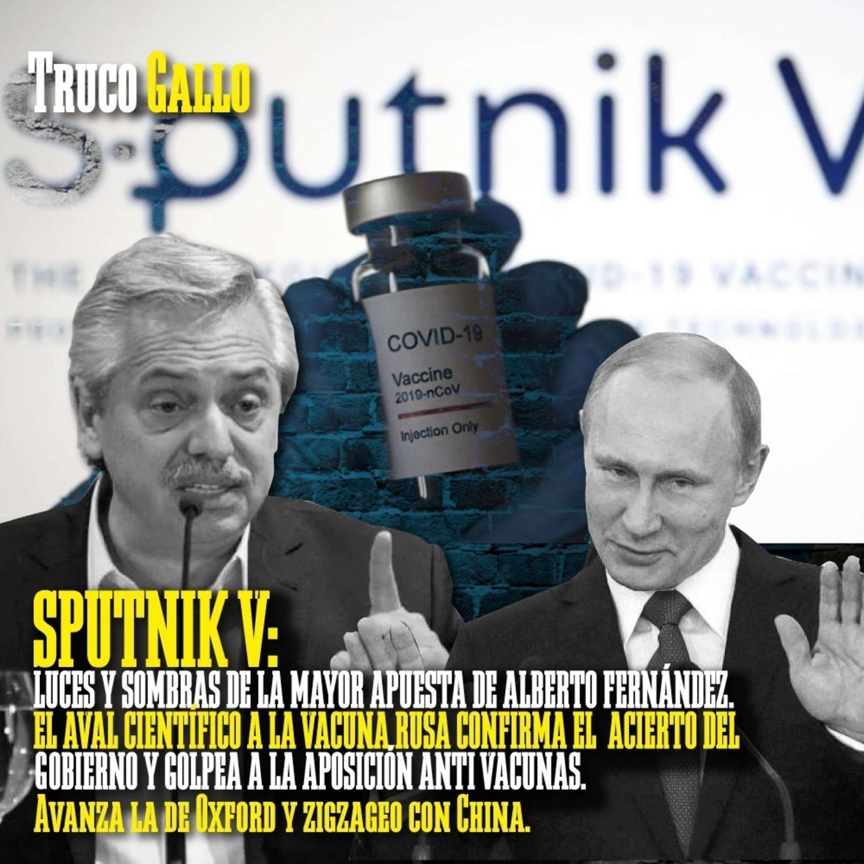 Sputnik V: Luces y sombras de la mayor apuesta de Alberto Fernández.