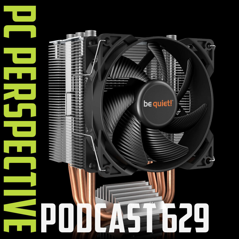 Podcast #629 - Nvidia LHR GPUs, Modular Laptop, Pure Rock Slim 2 Cooler, Cherry KB & Mouse + More!