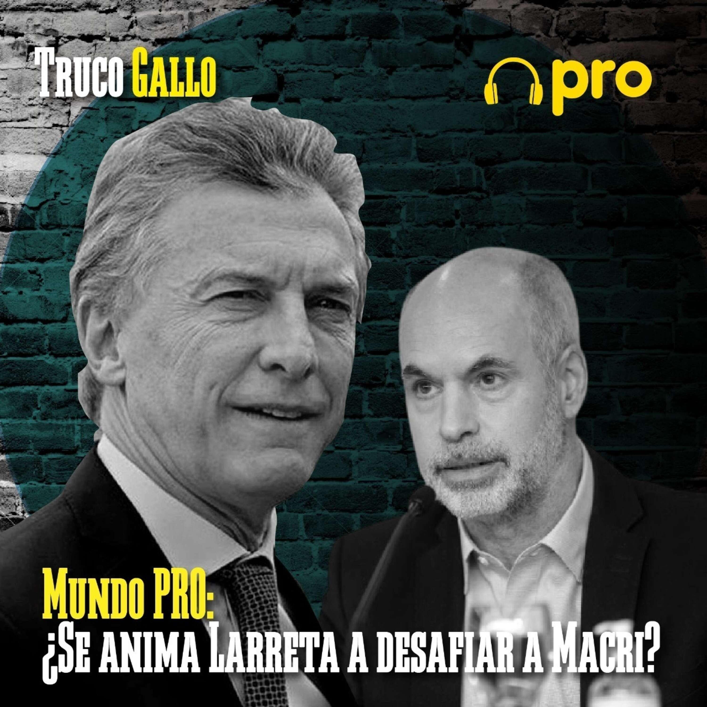 Mundo PRO: ¿Se anima Larreta a desafiar a Macri?
