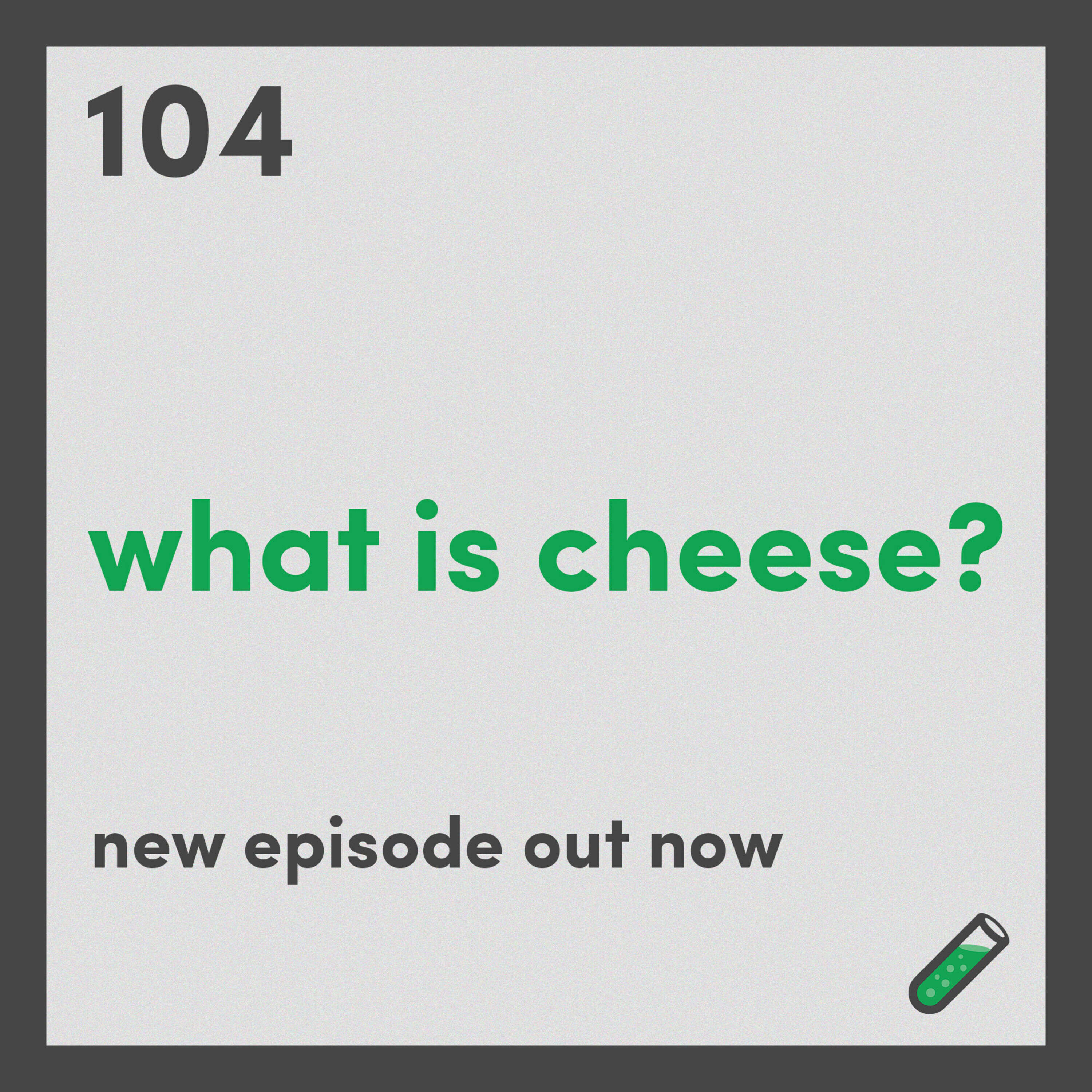 What is cheese? And what does it have in common with soap?