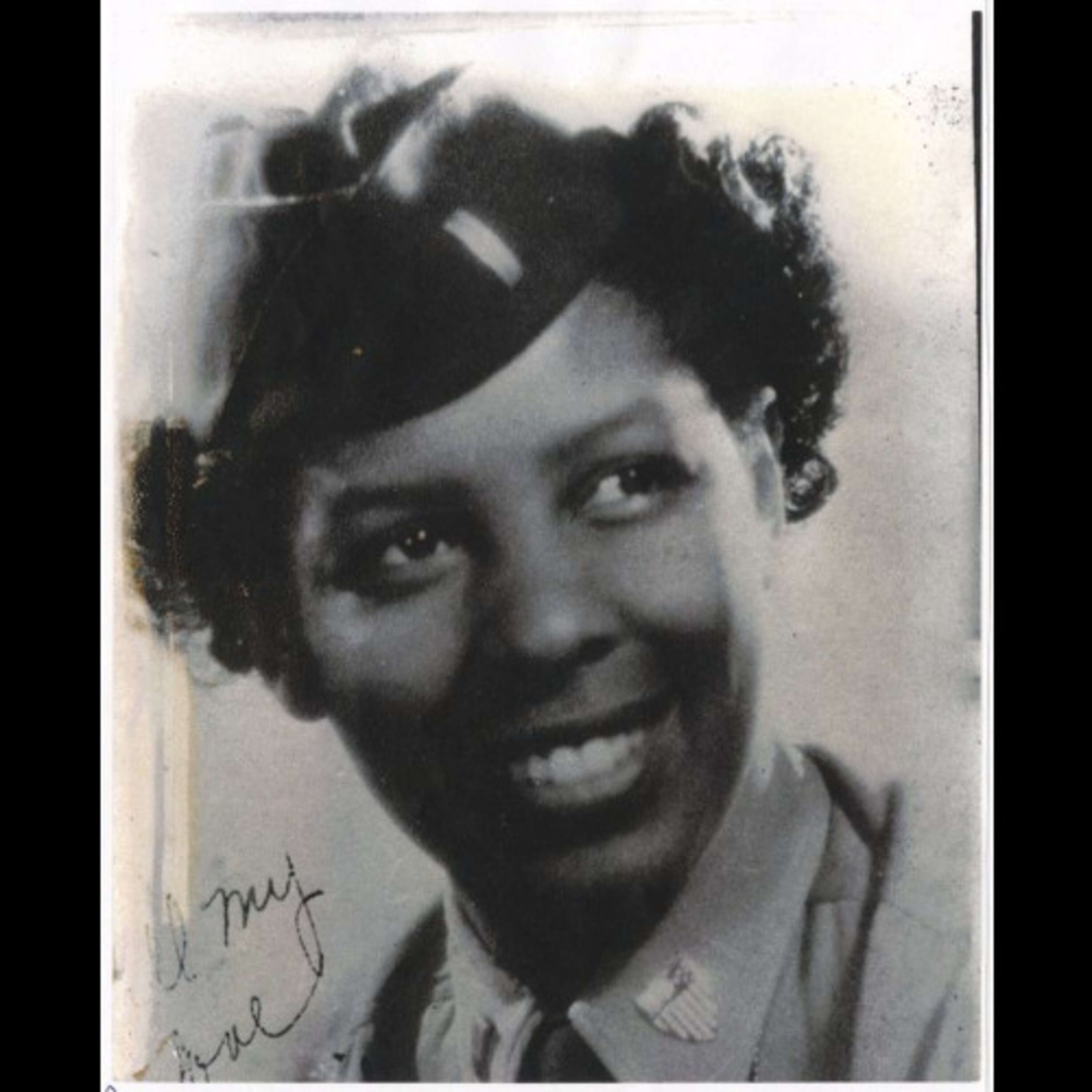 """#258: 100 Year Old WWII Army/Air Force Veteran Fannie Griffin McClendon, """"Six Triple Eight"""""""