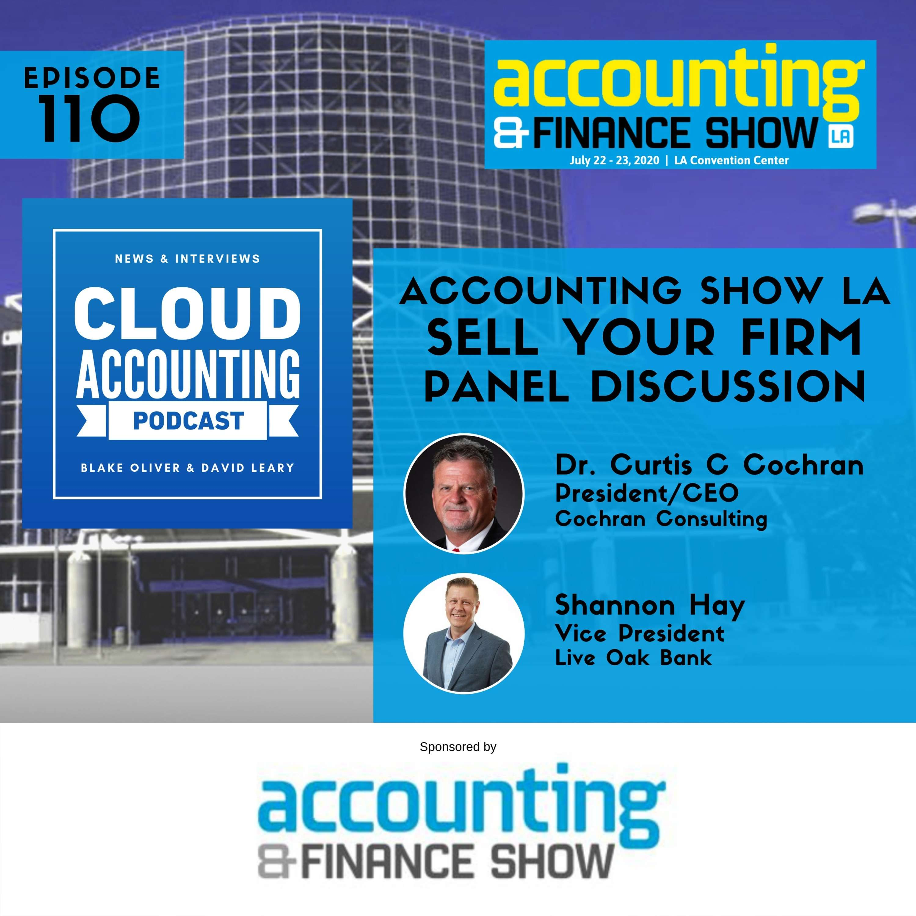 #AccountingShowLA: Things you need to know if you want to sell (or buy) an accounting firm!