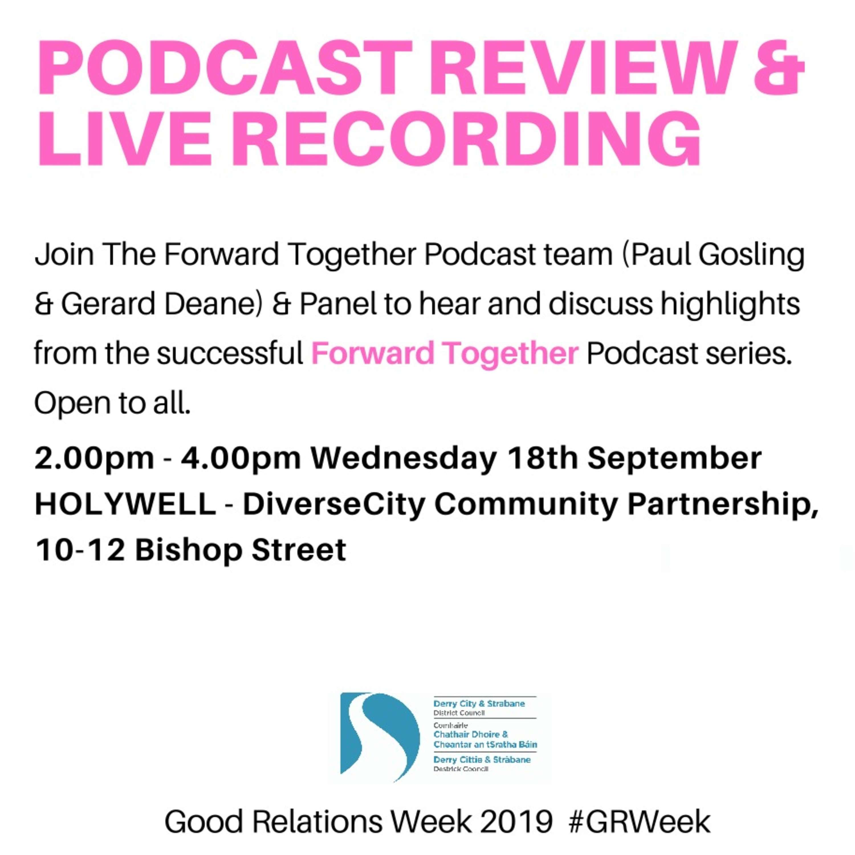 Good Relations Week - Review & Panel Discussion