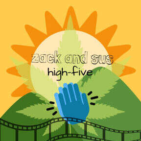 Zack and Sus High Five