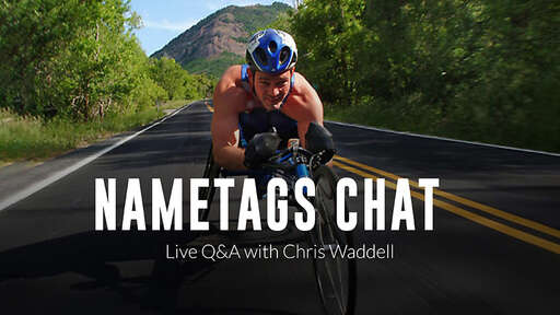Chris Waddell's Nametags Chat Podcast