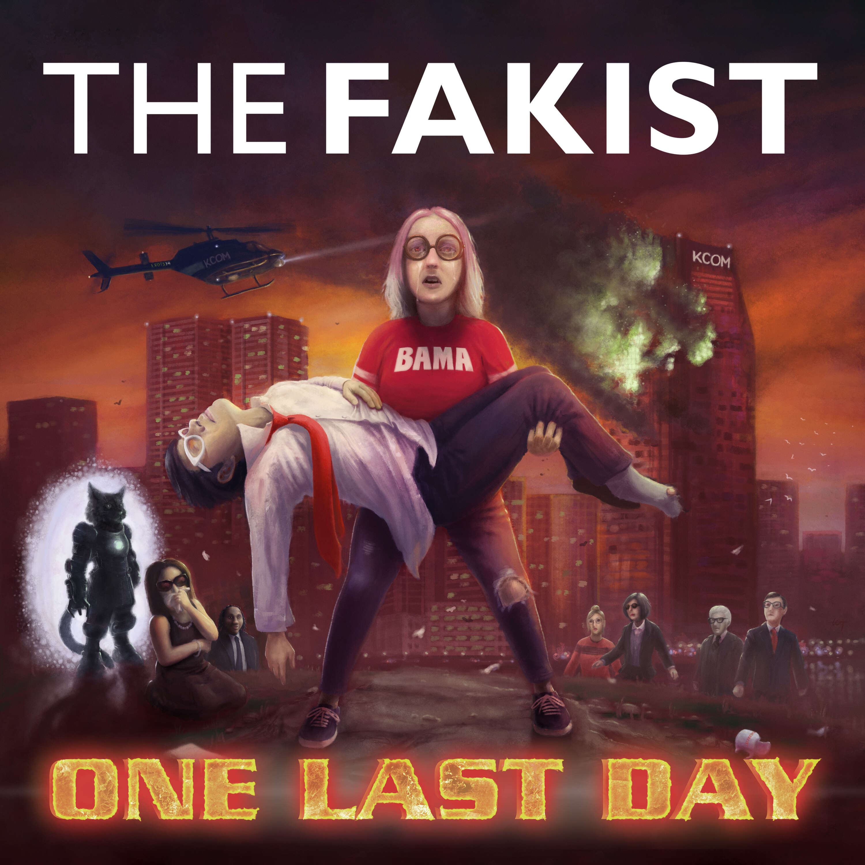 """""""    The Fakist: One Last Day """" Podcast"""