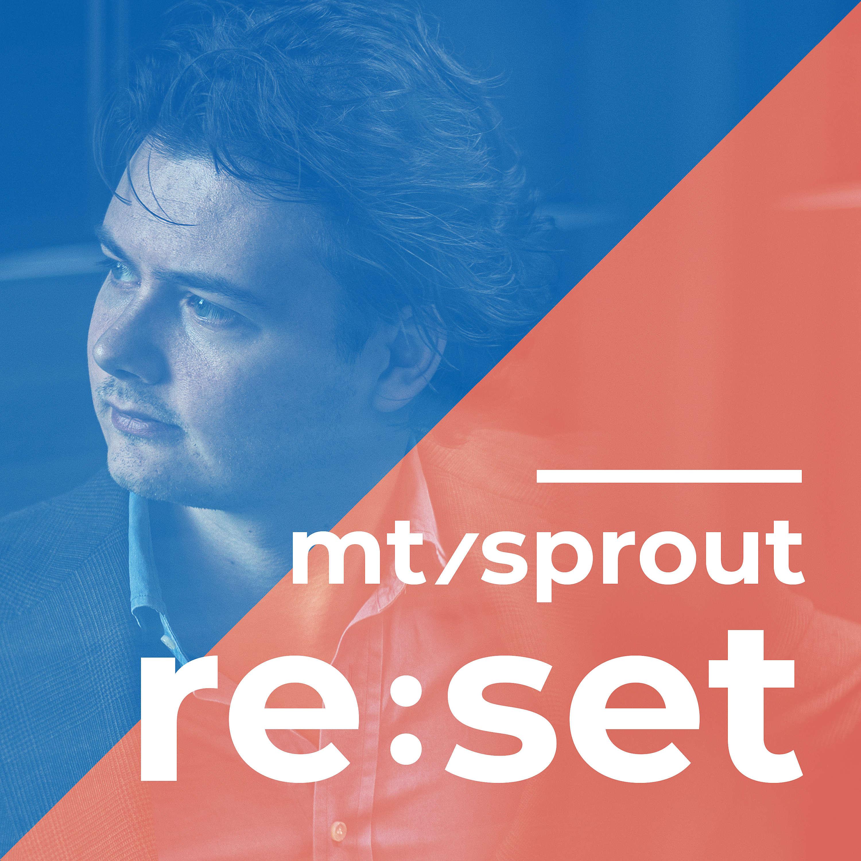 Reset door MT / Sprout logo